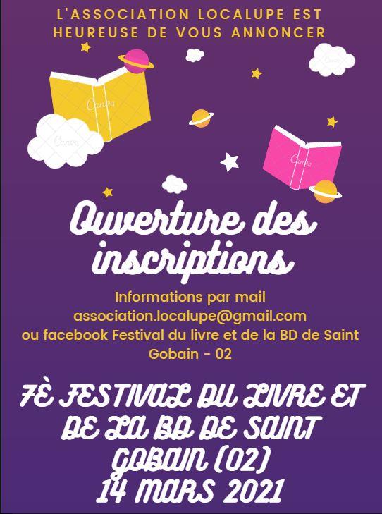 7e festival du livre et de la BD de Saint-Gobain